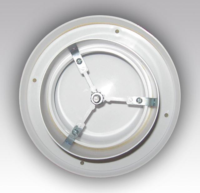La válvula Anemostat puede abrir o cerrar