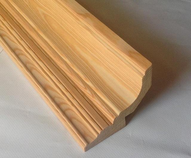 Trä takplint, gjord med fräsningsteknik