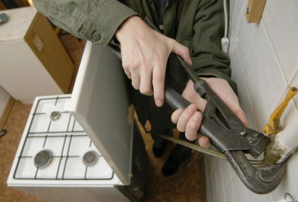 Tháo dỡ bếp gas cũ nên xảy ra tuân thủ các biện pháp phòng ngừa