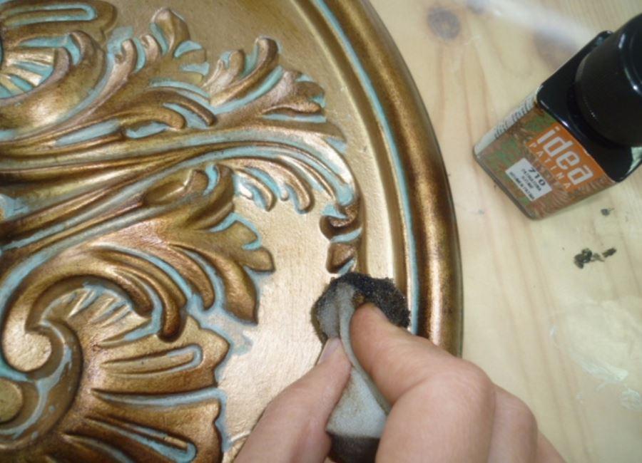 Skapa ett mönster på lättnadselementet