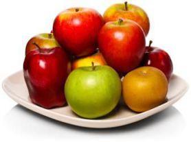 яблочная диета меню таблицы