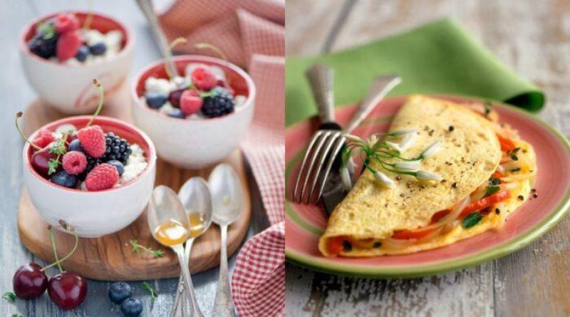 Полезные завтраки на каждый день. Правильное питание