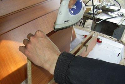 Кромка для столешницы с клеем как клеить