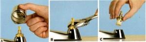 Кранның басын қақтығыс кілтін пайдаланып алыңыз