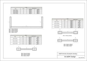StruBIM Design. Planos de armado de muros