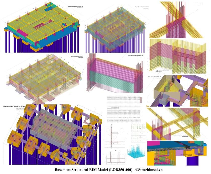 StrucBIM_LOD350_400_Overview