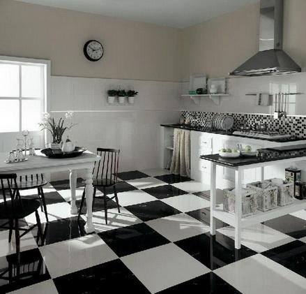 Bodenfliesen Innenbereich Wohnbereich glänzend