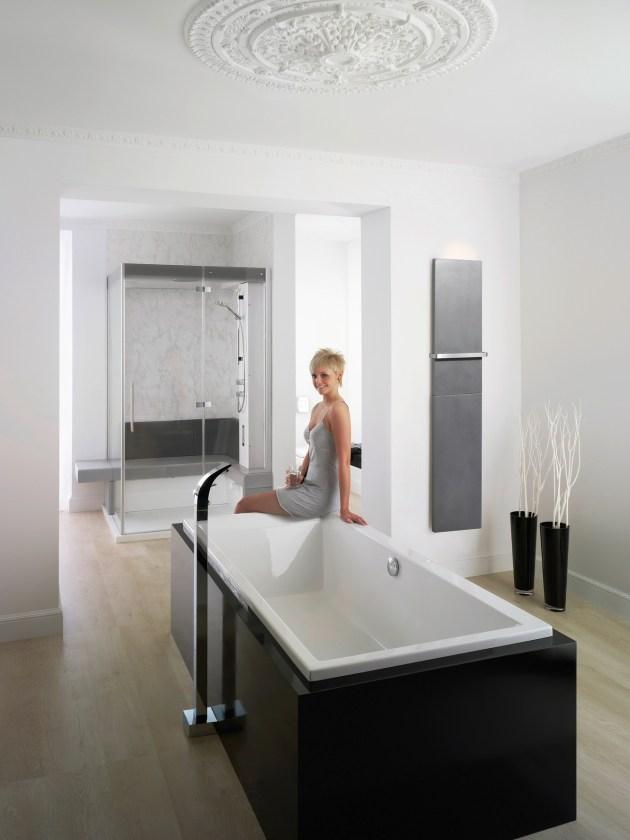 Bade- und Duschwannen Badewanne, Badezimmer, Bad