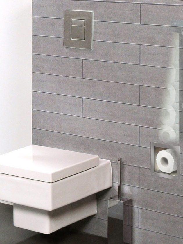 Wandnische Toilletenpapierhalter