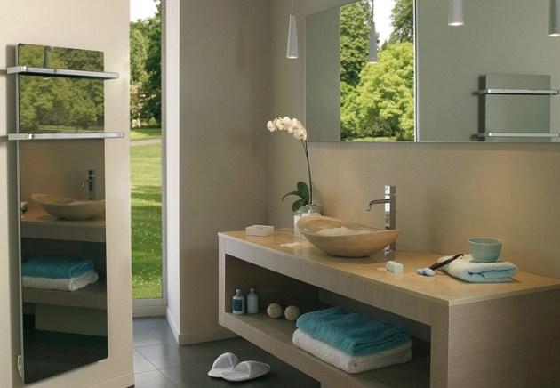 Handtuchwärmer Glas Heizkörper Badezimmer