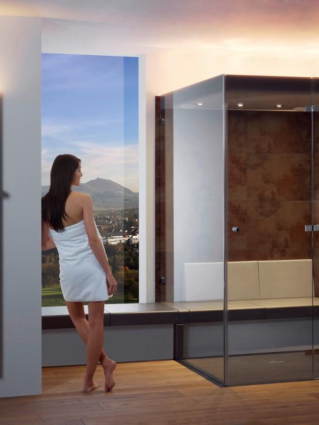 Dampfbäder Badezimmer bad Dampfbad Frau