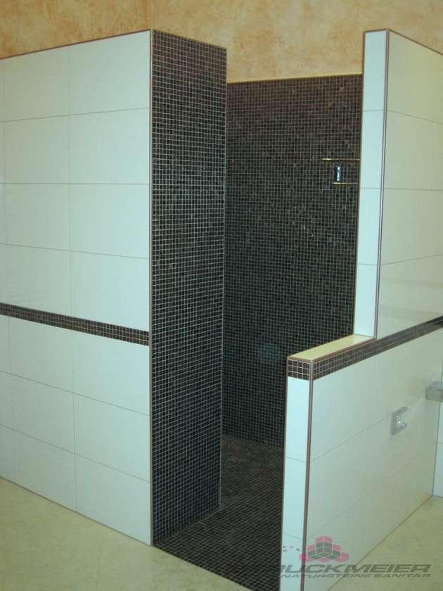 Mosaik Badezimmer Dusche Wandmosaik