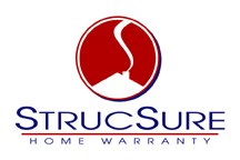 StrucSure Home Warranty centered logo