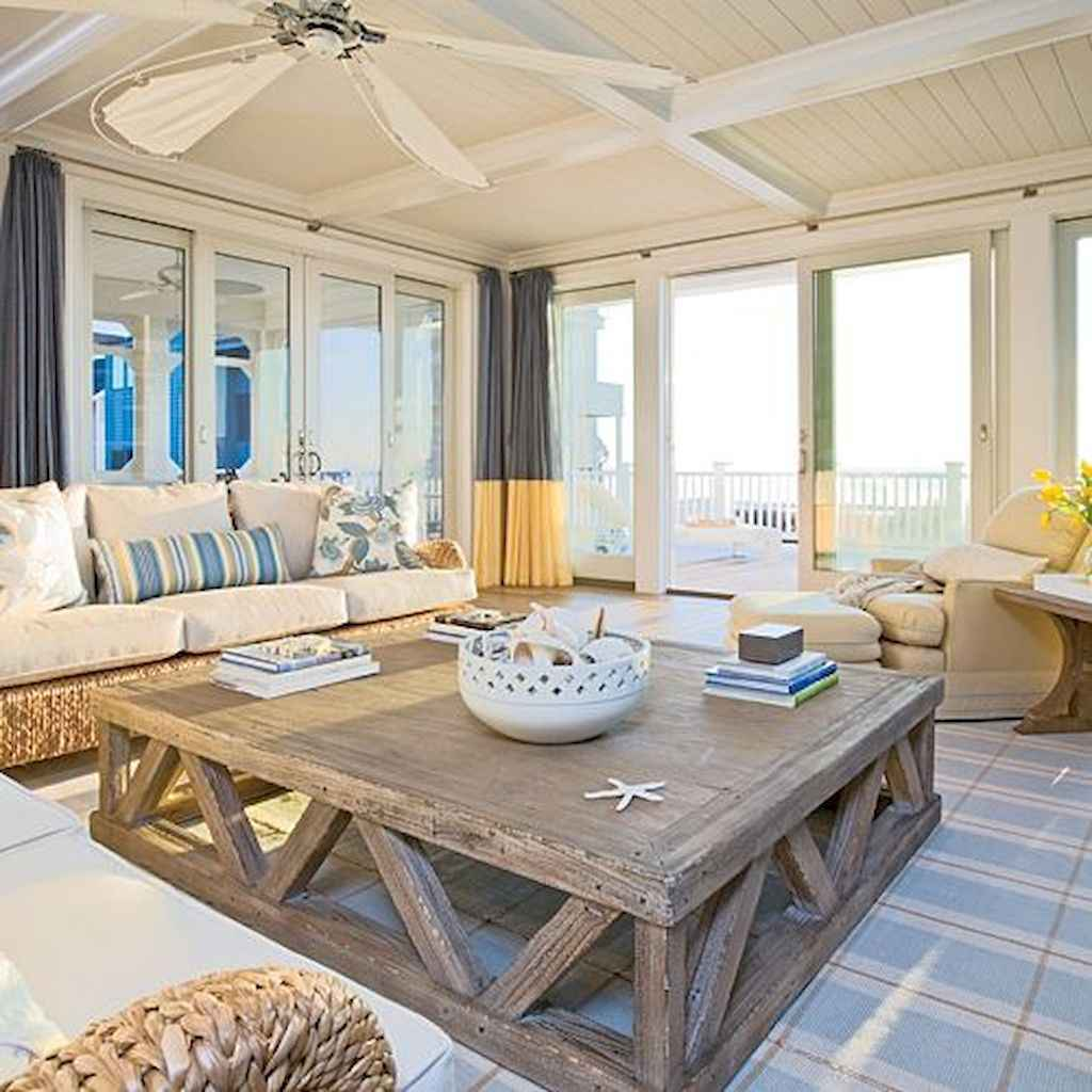 04 incredible coastal living room decorating ideas