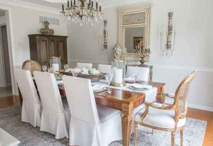 17 fancy french country dining room decor ideas