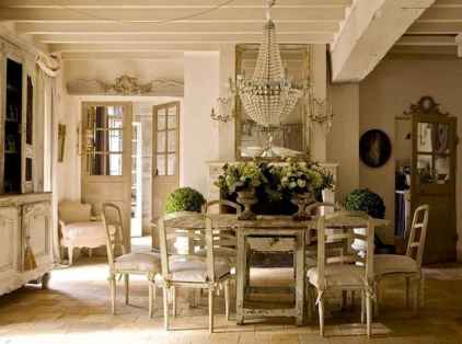 28 fancy french country dining room decor ideas