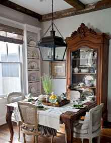 36 fancy french country dining room decor ideas