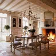37 fancy french country dining room decor ideas