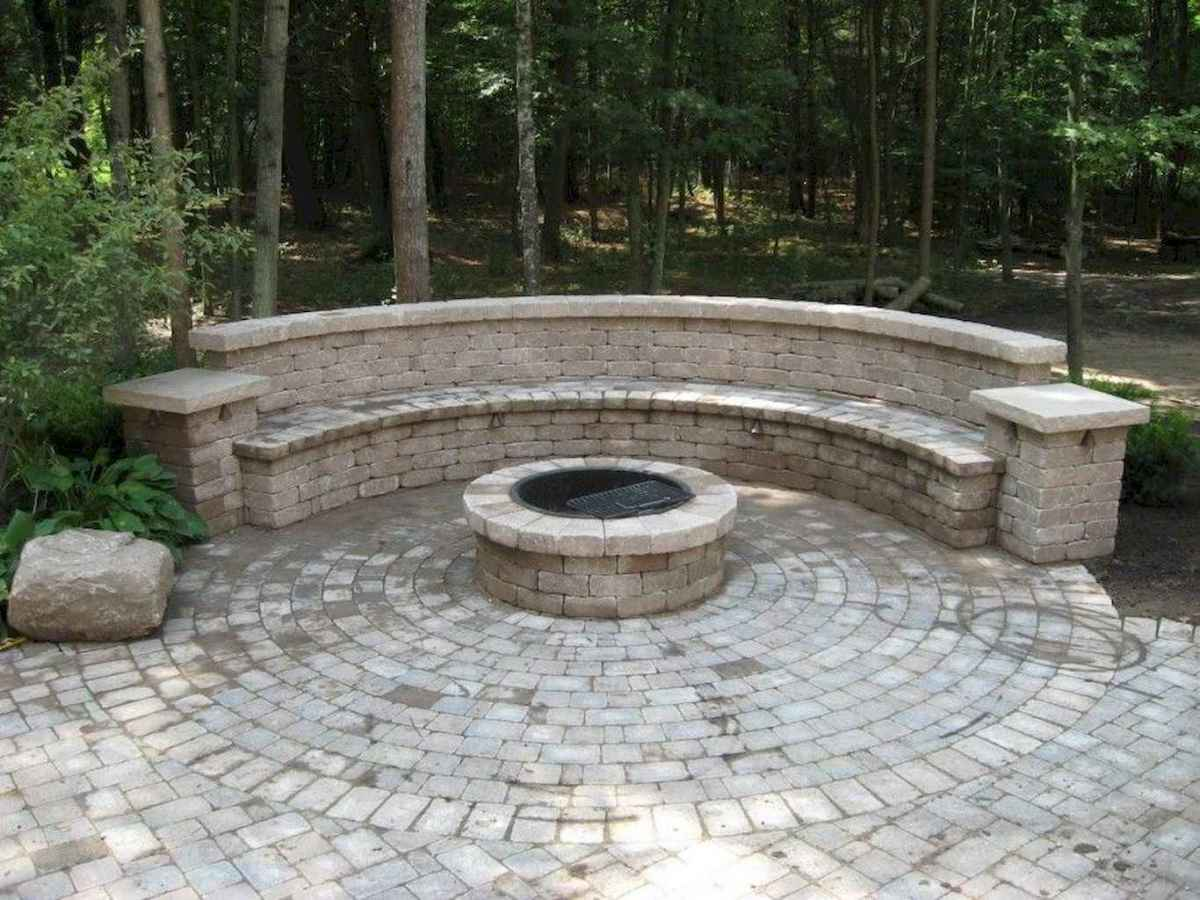 40 easy diy fire pit ideas for backyard landscaping