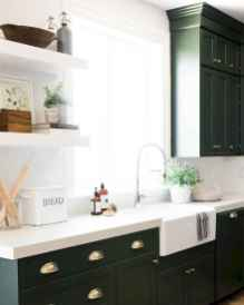 47 rustic kitchen decor with open shelves ideas