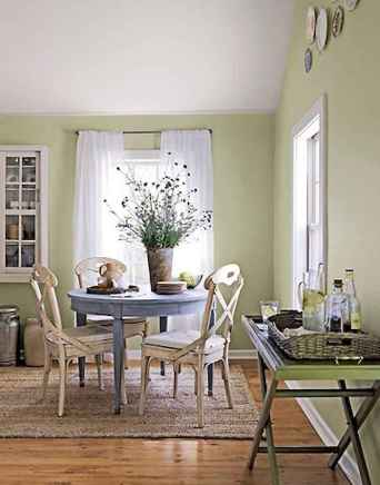 54 fancy french country dining room decor ideas