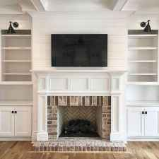 58 small fireplace makeover decor ideas