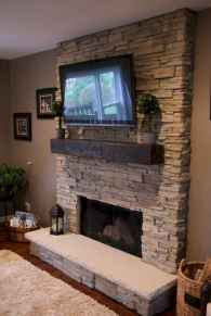 65 small fireplace makeover decor ideas