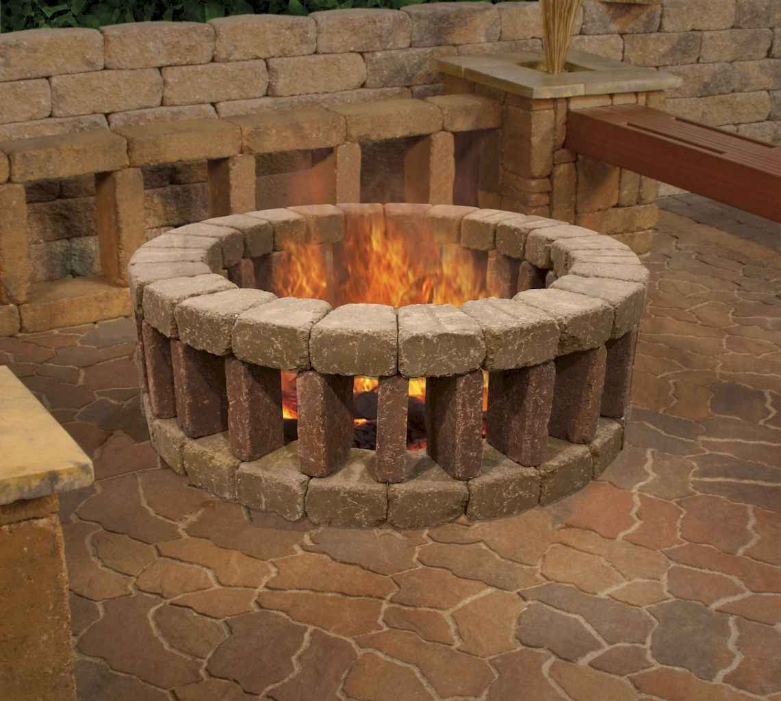 66 easy diy fire pit ideas for backyard landscaping