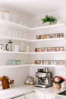 70 rustic kitchen decor with open shelves ideas