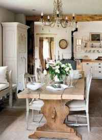 75 fancy french country dining room decor ideas