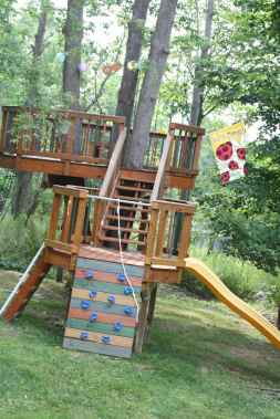 20 diy playground project ideas for backyard landscaping