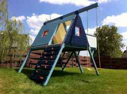 23 diy playground project ideas for backyard landscaping