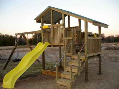 27 diy playground project ideas for backyard landscaping