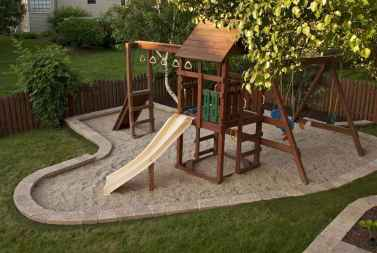 30 diy playground project ideas for backyard landscaping