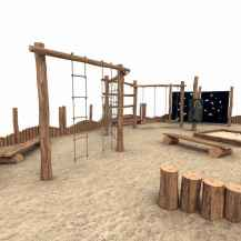 32 diy playground project ideas for backyard landscaping