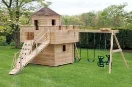 43 diy playground project ideas for backyard landscaping