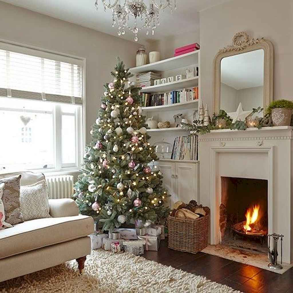 18 cozy christmas living rooms decorating ideas