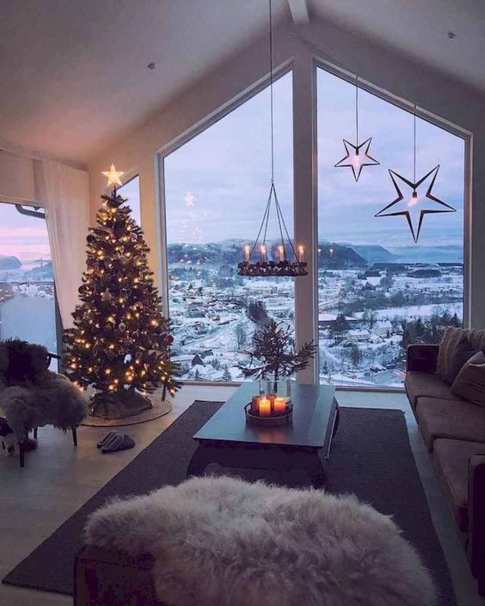29 cozy christmas living rooms decorating ideas