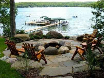 02 cozy outdoor fire pit seating design ideas for backyard