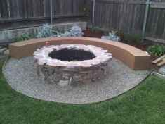 06 cozy outdoor fire pit seating design ideas for backyard