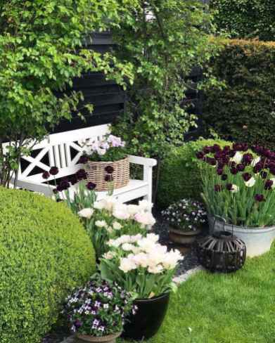 08 stunning small cottage garden ideas for backyard inspiration