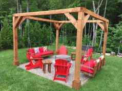 13 cozy outdoor fire pit seating design ideas for backyard