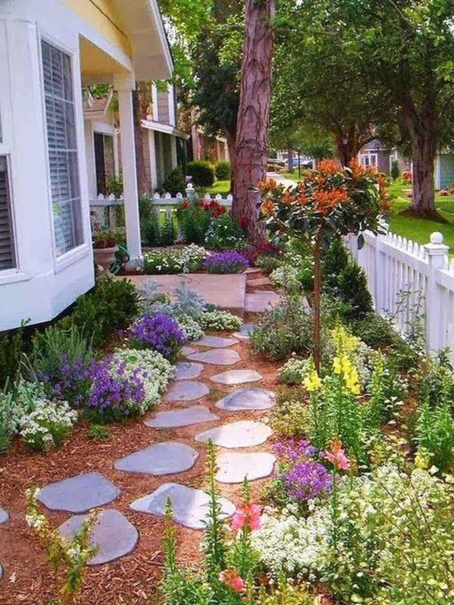 14 beautiful front yard cottage garden inspiration ideas