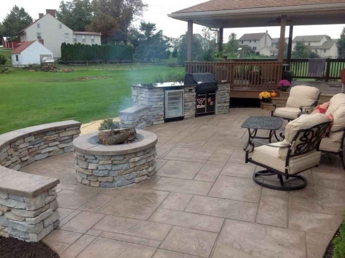 21 cozy outdoor fire pit seating design ideas for backyard