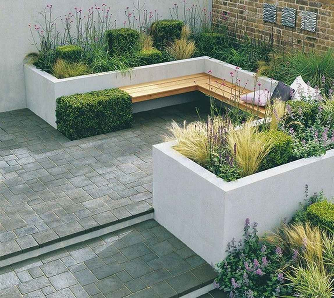 28 small courtyard garden with seating area design ideas