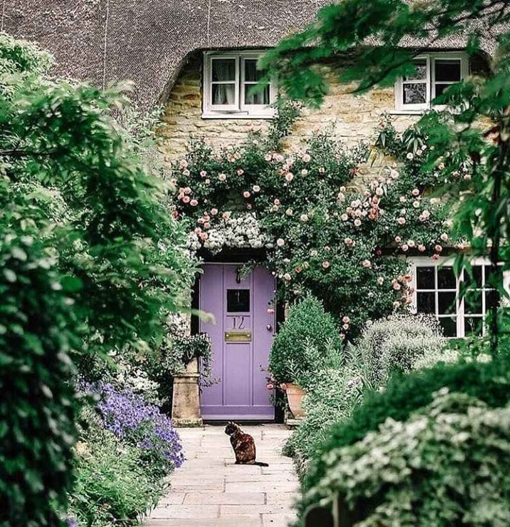 32 beautiful front yard cottage garden inspiration ideas