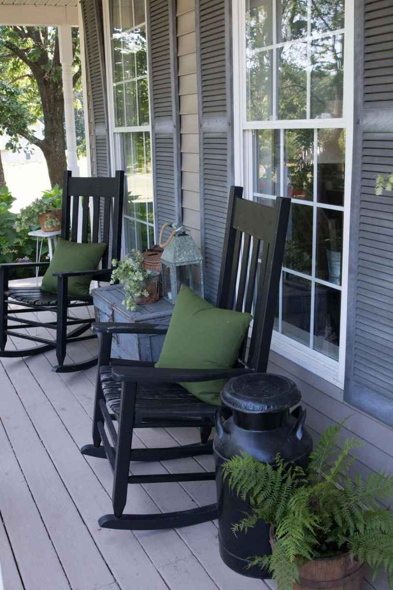 33 amazing summer front porch seating ideas