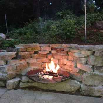 34 cozy outdoor fire pit seating design ideas for backyard