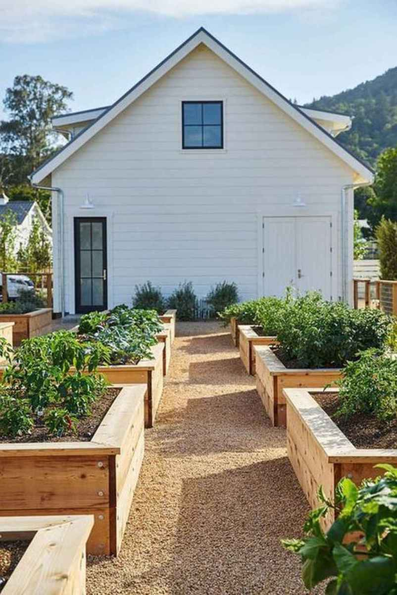 39 awesome backyard vegetable garden design ideas