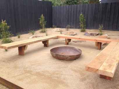 46 cozy outdoor fire pit seating design ideas for backyard